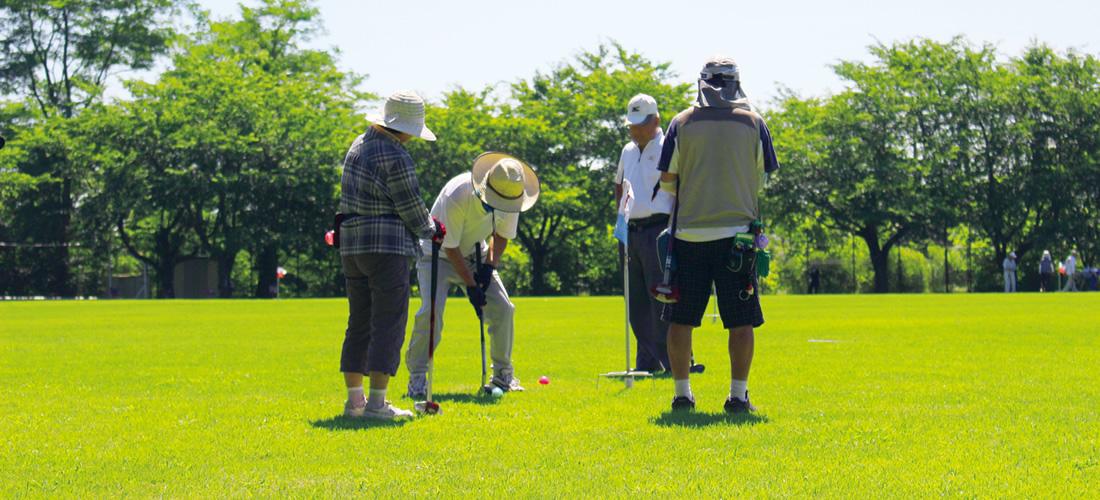 さいたま市宝来グラウンド・ゴルフ場(全景)