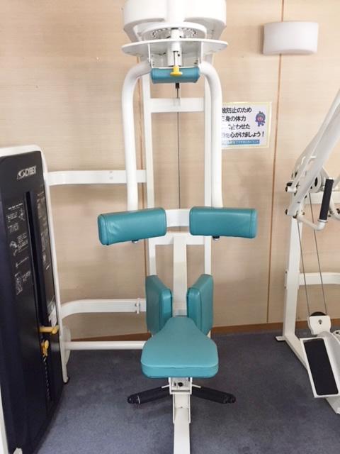 筋力マシン(腹筋2)
